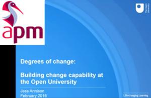 APM - Webinar Degrees of Change